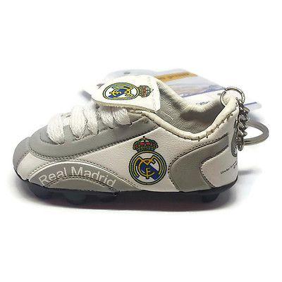 NEW Real Madrid Soccer Team Official Shoe Keychain Football Club Logo Keyring