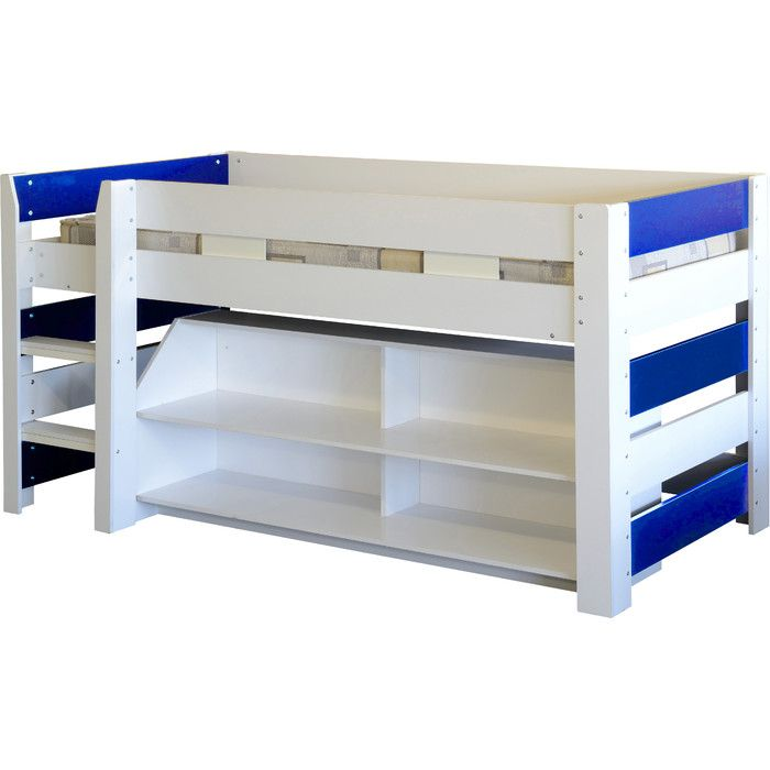 You'll love the Lollipop Single Mid Sleeper Bed with Storage at Wayfair.co.uk - Great Deals on all Children & Nursery  products with Free Shipping on most stuff, even the big stuff.