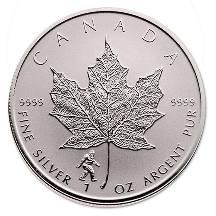 2016 BIGFOOT 1 oz Privy Silver Maple Leaf