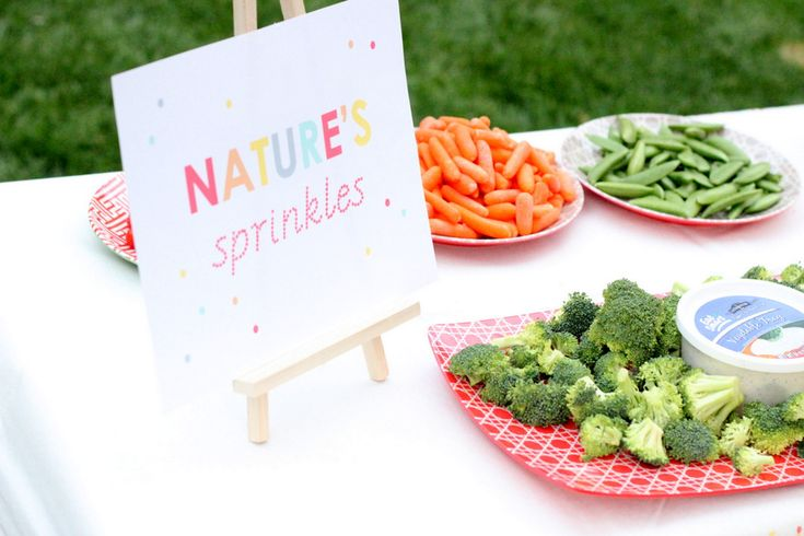 nature's sprinkles veggie table kojodesigns