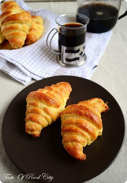 Flaky Croissants Recipe — Dishmaps