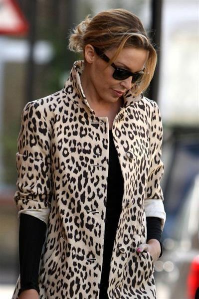 Фото леопардовое пальто