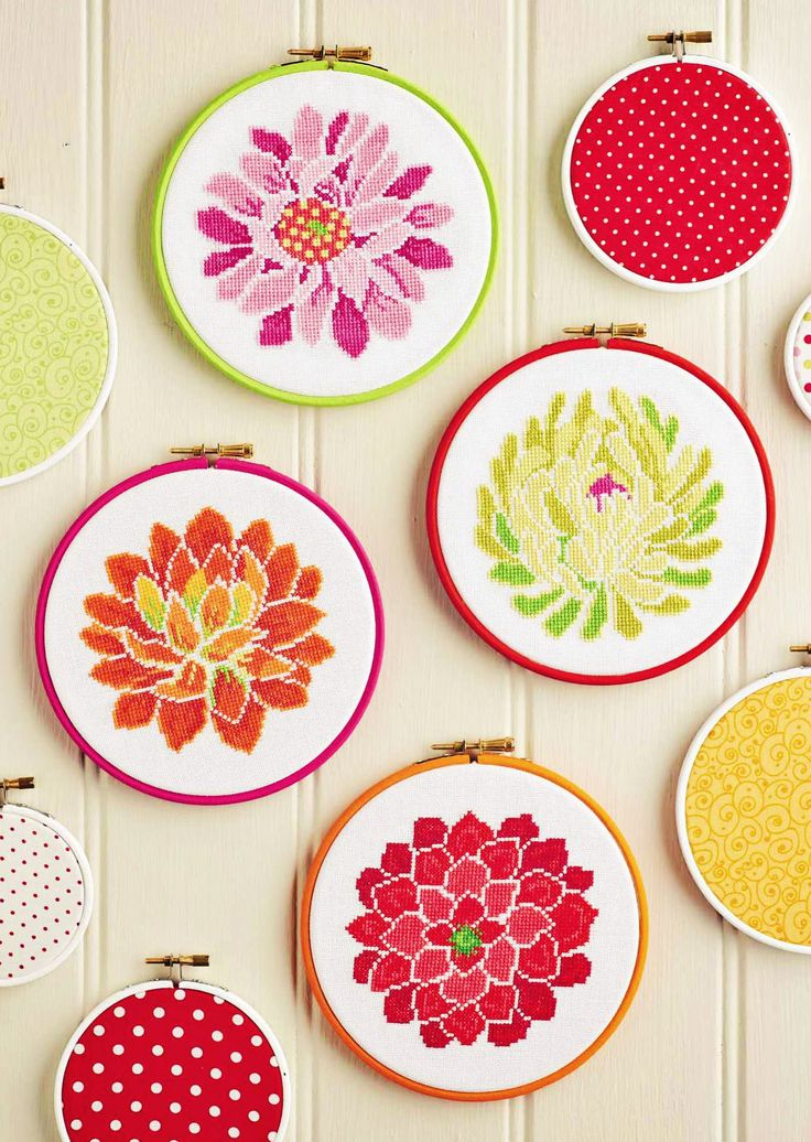 Room in Bloom - Project Available in CrossStitcher Magazine 296