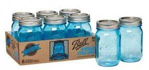 Glazen voorraadpotten van Ball Mason Jars voor al je superfoods