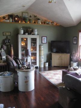 530 best images about Primitive Living Rooms on Pinterest