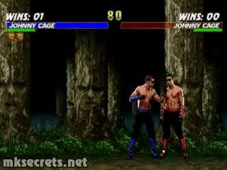 Johnny Cage Fatality I - Mortal Kombat Trilogy (GIF)