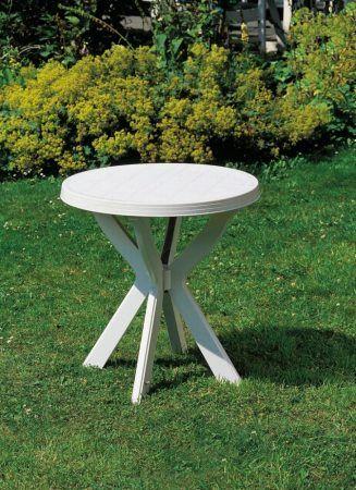 'Don' műanyag, kerek asztal