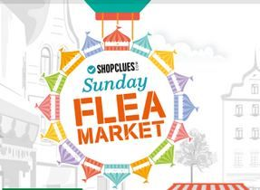 Sunday Flea Market starting @ Rs. 50/- only -Your Favourate Market in a New Look Shopclues.comPay with Citrus GET 90% Cashback upto Rs. 100/-