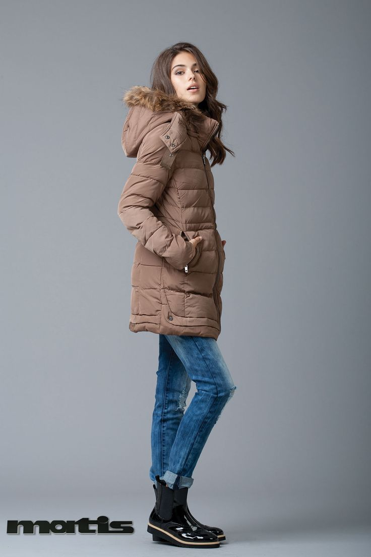 Stay chic as temperature cool! It's time for parkas...