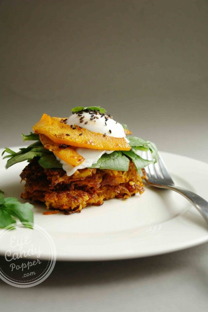 Root vegetable fritters 3 ways (the fritters are vegan, paleo, naturally gluten-free)