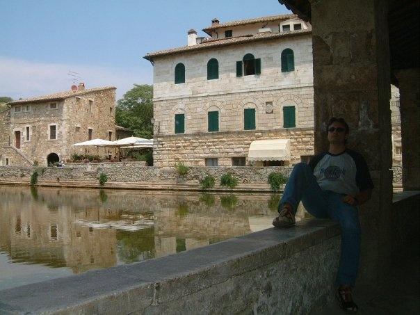 Bagno Vignoni (Tuscany) 2003