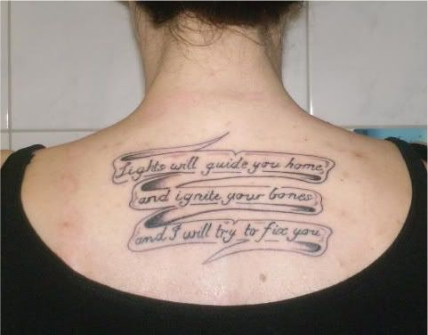 "Coldplay, ""Fix You"" 