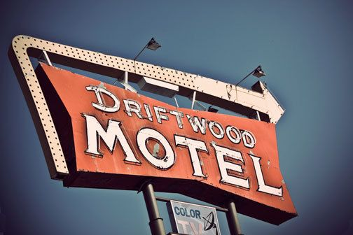 Vintage Motel Sign - Neon