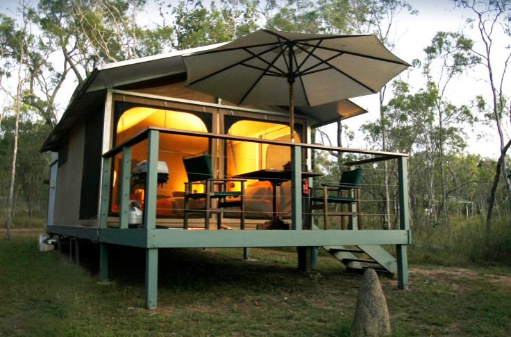 Tent On A Raised Platform Classy Camping Pinterest