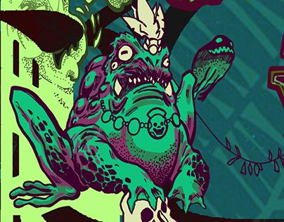 """Check out new work on my @Behance portfolio: """"Poison dart"""" http://be.net/gallery/41338397/Poison-dart"""