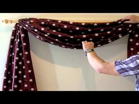 no sew scarf valances