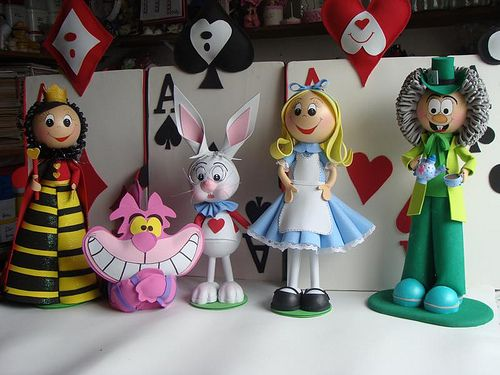 Alice in wonderland fofucha
