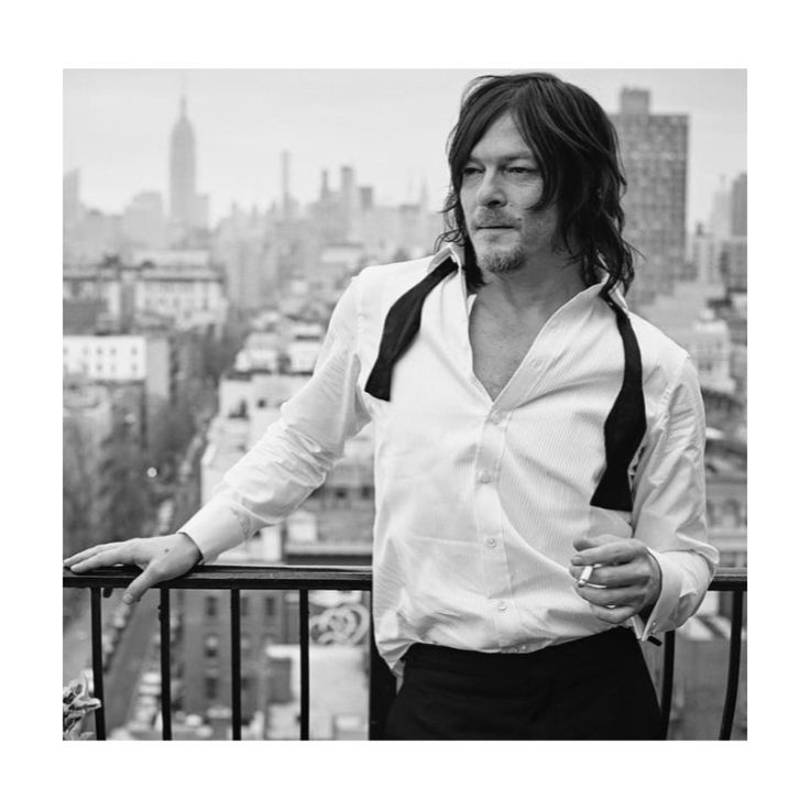 ❤️❤️❤️❤️ #normanreedus repost from @ericguillemainphoto on Instagram