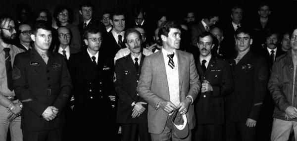 By United Press International On Jan. 20, 1981, 52 American hostages were released by Iran after 444 days in captivity.