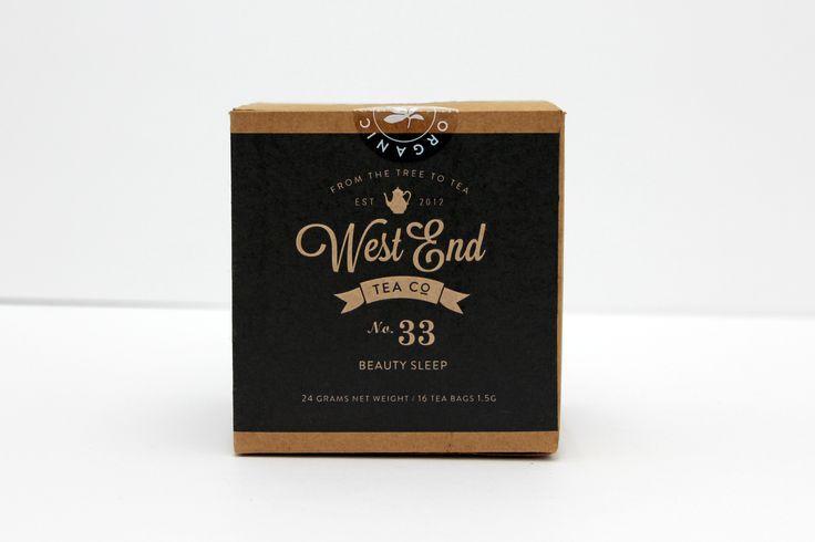West End Tea Co. Beauty Sleep tea Certified Organic