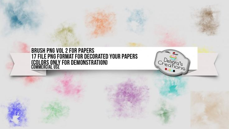 Brush Png Vol 2 For Papers by Debora's Creations (CU)
