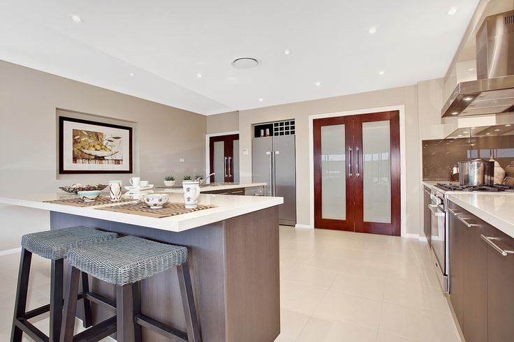 Beach House Kitchen by McDonald Jones Homes #kitchens #mcdonald jones #australia #design #luxuryhome #architecture