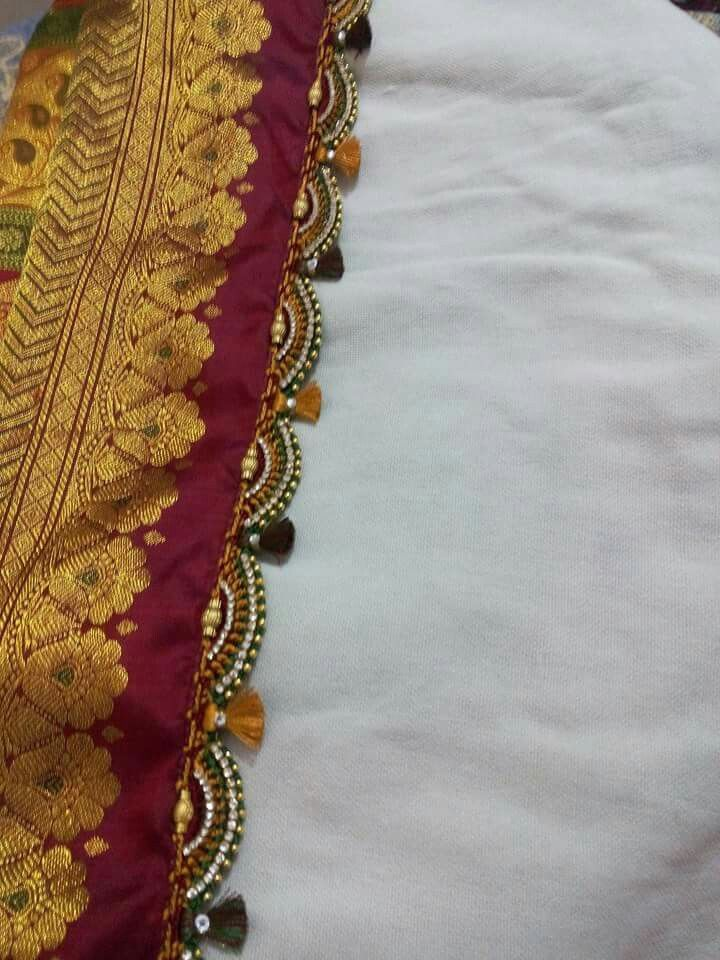 Crochet Lace Patterns For Sarees : 77 best images about saree kuchu on Pinterest Lace ...