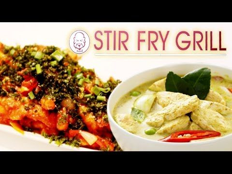 Digging into the Chinese and Thai cuisines at Stir Fry Grill, our Foodistani sampled humoungous portions of Crackling #Spinach and #Chicken, Water Chestnut and Cottage Cheese along with some yummy Thai Curry Rice at Stir Fry Grill.