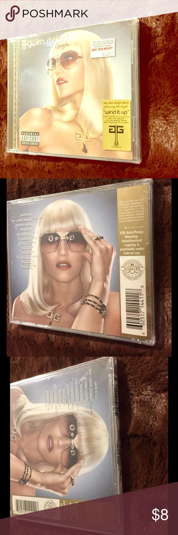 NIP Gwen Stefani CD NEW IN PACKAGE! Gwen Stefani CD, Album Escape. New and sealed. 30% off two items! Other