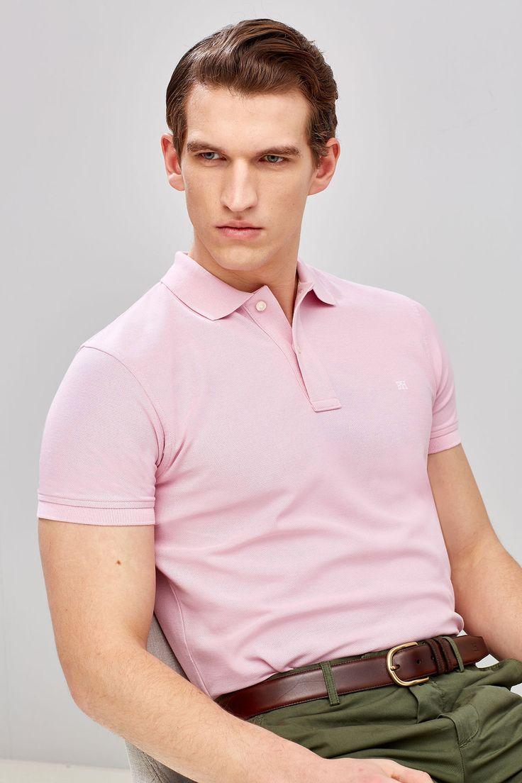Think Pink: Rosas sem espinhos! #Think #Pink: #Rosas #sem #espinhos | #Polo #manga #curta #pedrodelhierro
