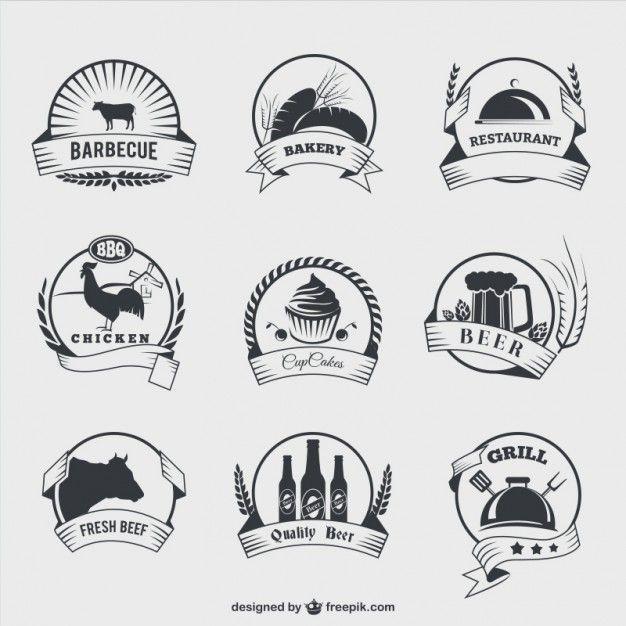 20 packs de badges et d'icônes avec un style vintage à télécharger librement | BlogDuWebdesign