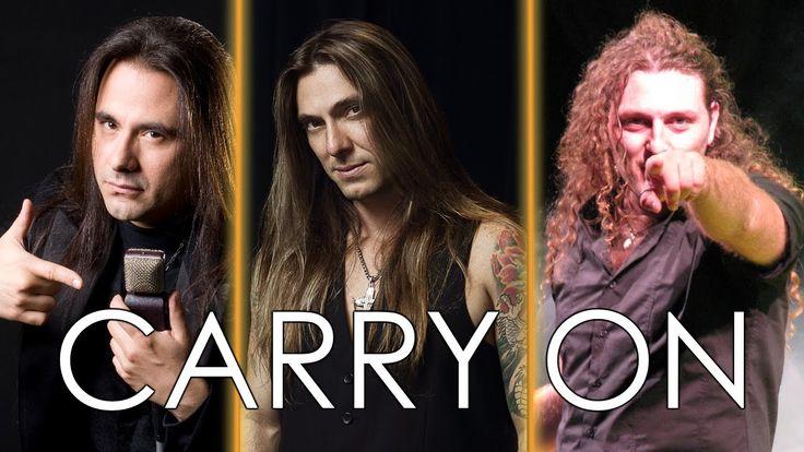 Angra - Carry On | Andre Matos, Edu Falaschi & Fabio Lione