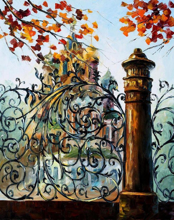 ST. PETERSBURG-LEONID AFREMOV by Leonidafremov.deviantart.com on @deviantART