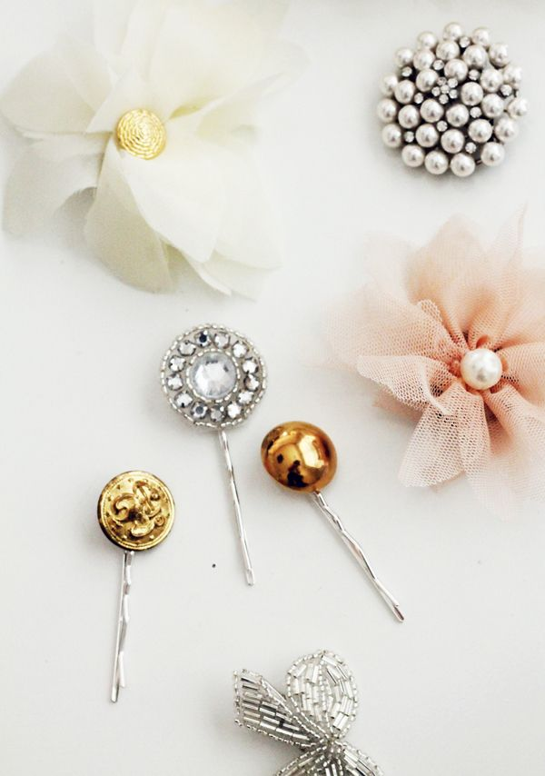 Beautiful DIY Hair Clips: Diy Ideas, Diy Holidays, Diy Hair, Diy'S, Holidays Jewels, Diy Accessories, Smp Living, Hair Accessories, Diy Projects
