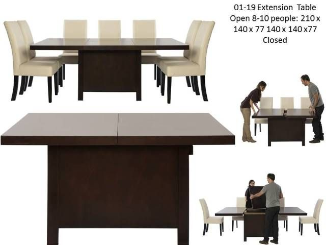 01 09 Extension Table | Tables | Dining Room | Pacific Home Furnishing
