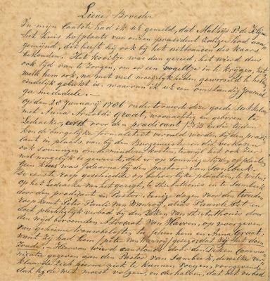 Marilou kiest: het schriftje van de pastoor