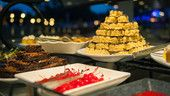 Brownies, crispy rice treats and delightful sweets on display at the Wishes Fireworks Dessert Party