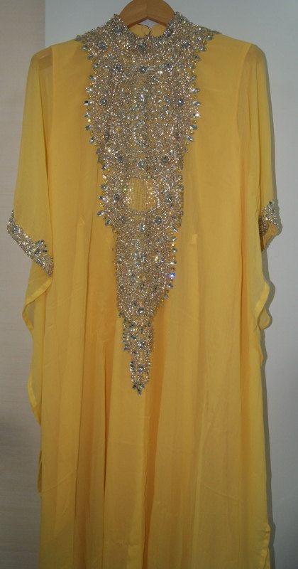 Very elegant dubai kaftan Abaya khaleeji jalabiya by AFROTRENDS, $160.00