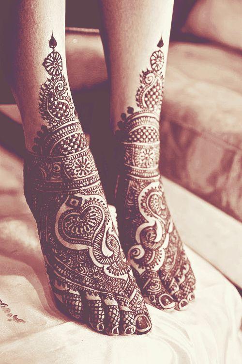 stunning henna