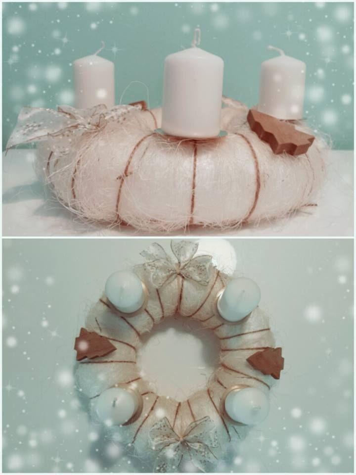 """Adventní věnec """"Něžnost"""" (Advent wreath """"Tenderness"""")"""