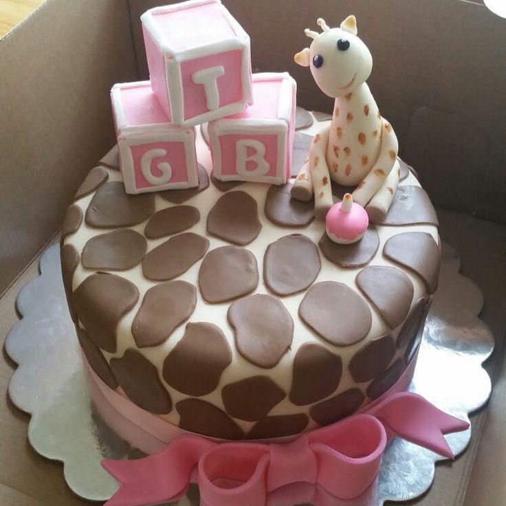 1000+ Ideas About Giraffe Birthday Cakes On Pinterest