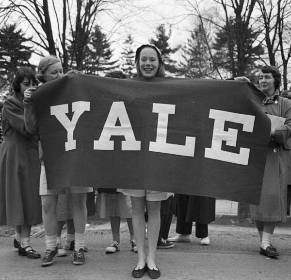 Preppy Yale Students