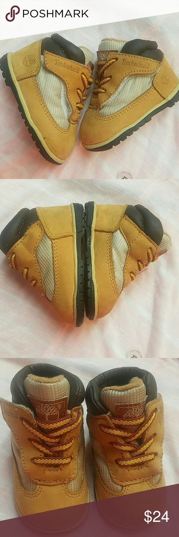 Timberland Baby Boots Size 1. Great condition. Super cute! Timberland Shoes