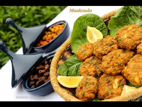 Maâkouda-galettes de pommes de terre-معقودة البطاطس في الفرن /Maakouda -...