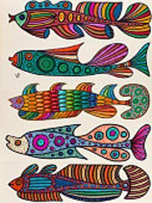 Getty imagen estilizada de pescado dibujos para niños -