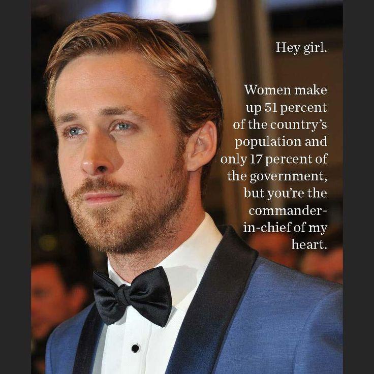 Feminist ryan gosling patriarchy