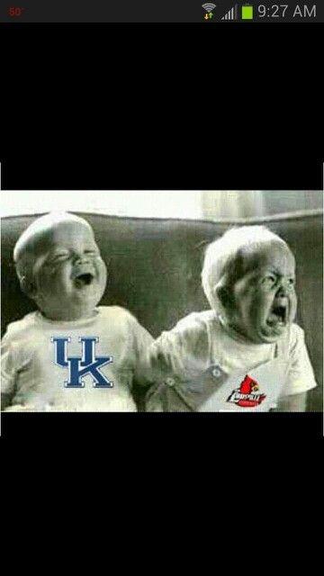 UofL Louisville basketball is Little Brother to UK Kentucky #L1C4 #LouisvilleHateWeek