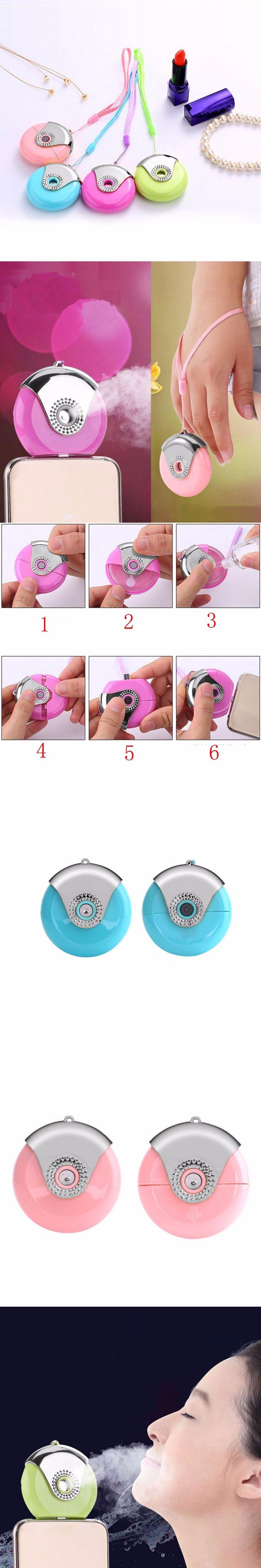 2 PCS/lot Mini Humidifier USB Charging For iPhone/Android Nano Mist Handy Atomization Facial Moisturizing Spray