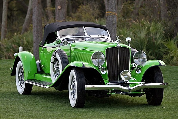 VOITURES DE LEGENDE (180) : AUBURN 12 160A SPEEDSTER - 1932