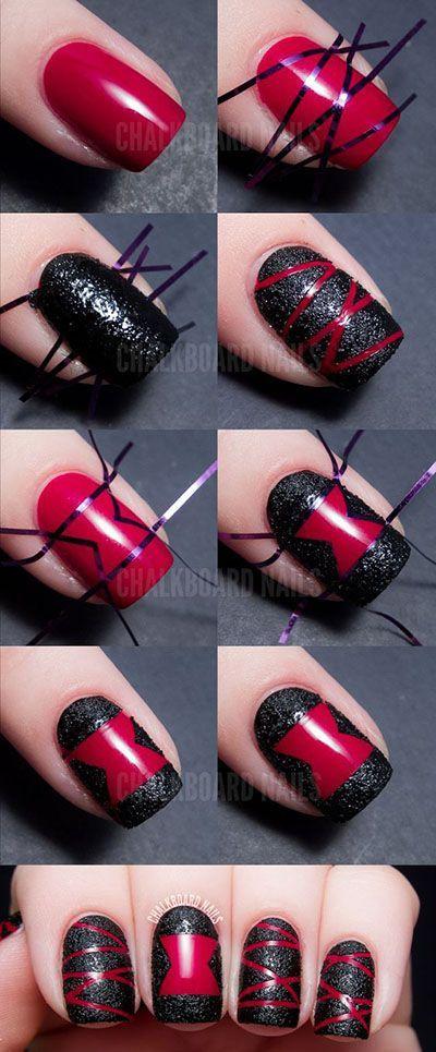 Coucou les filles ! Me voilà de retour avec une petite fournée de tutos sympathiques pour porter avec classe les ongles noirs. Les ongles en mode Dark ne sont pas...